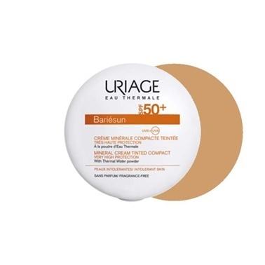 Uriage URIAGE Bariesun SPF50 Mineral Cream Tinted Compact Golden 10 gr Renksiz